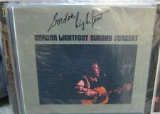 Gordon Lightfoot - Signed Sunday Concert Album Cover