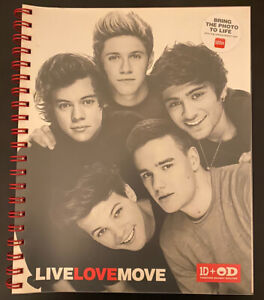Limited Edition Never Used One Direction Office Depot Collaboration Notebook
