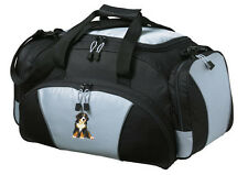 Bernese Mountain Dog Embroidered Duffel Bag