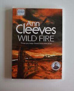 Ann Cleeves: Wild Fire - Unabridged Audio Book - MP3CD