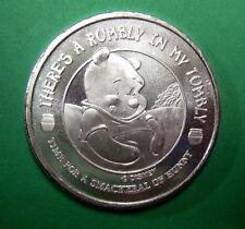 Winnie The Pooh, Disney .999 Pure Silver 1 oz Medallion. The Honey Tree! Scarce!