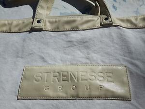 STRENESSE Strandtasche Beach Bag Leinen 52x37x10 cm naturfarben