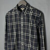 Burberry London Long Sleeve Shirt Nova Chek Size L