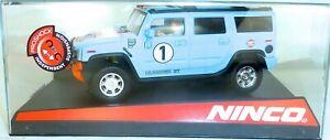 Hummer H2 Gulf Ninco 50489 1:3 2 Neuf Emballage Scellé HH4 Μ