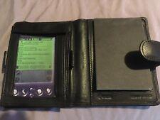 Winn International Napa Leather Bi-Fold Blackberry/Notepad holder-Black 8403