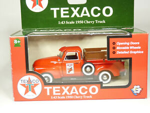 Gearbox 57113 1/43 1950 Chevrolet 3100 Chevy Pickup Truck Texaco Diecast Model