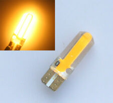 10x Gelb Amber T10 W5W 20 SMD COB LED Lampe Glassockel Innenraum Beleuchtung 12V