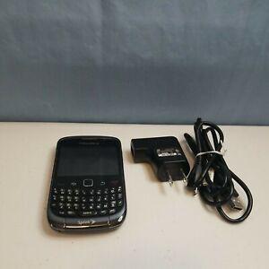 BlackBerry Curve 9330 - Black / Silver Sprint Smartphone Unknown ESN No Power