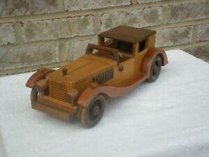 1927 Bugatti 41 Royale Handmade Wooden Replica