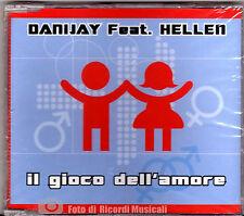 CDS/CDM  DANIJAY Feat HELLEN - IL GIOCO DELL'AMORE (SIGILLATO)
