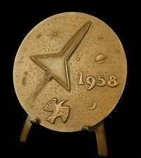 Medaille industries aéronautiques aircraft Industries 1958 Robert Lacoste medal