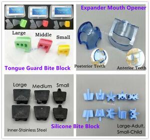Dental Mouth Prop Bite Block Opener Tongue Guard Lip Cheek Retractor