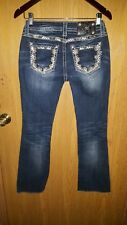 MISS ME women's jeans, BOOT. SZ 26 W, 32 INSEAM, NICE! READ DESCRIPTION!