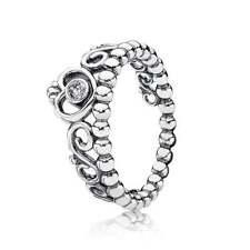a5a64955c New Pandora My Princess Ring Clear CZ Size 58 (8.5) 190880CZ W Suede Pouch