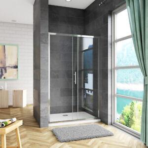 Duschabtrennung Nischentür Schiebetür Duschkabine Duschtür Dusche 100 - 140 cm