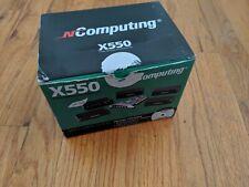 NComputing X550 Desktop Virtualization Kit PCI Card & 5 XD2 Devices Client