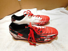 Dream Pairs Boys Girls Running/Soccer Shoes Used 9.5 Red, White & Black