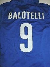 MARIO BALOTELLI #9 jersey Team Italy Italia Puma jersey youth large vintage blue