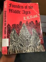 Founders of the Middle Ages: by Edward Kennard Rand (1957 PB) Dover ED Good