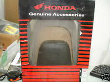 HONDA VTX1800 CHROME BACKREST W/PAD FACTORY GENUINE HON