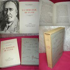 LA DOUCEUR DE LA VIE  Jules Romains  Lithographie originale de Heuze