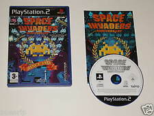 Space Invaders Anniversary / Pal - Esp / PS2 Playstatio