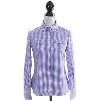 Tommy Hilfiger Women Long Sleeve Plaid Check Button Down Shirt - Free $0 Ship