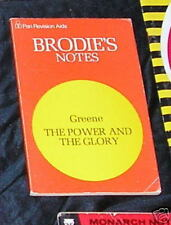 Power & The Glory Study Notes Graham Green