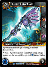 WOW WARCRAFT TCG THRONE OF TIDES CERITH SPIRE STAFF X 4