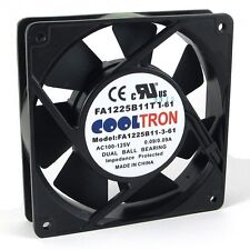 110V / 115V / 120 V AC Axial Cooling Fan. 120mm x 25mm High Airflow (HS1225A)