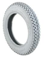 PAIR OF GREY MOBILITY SCOOTER TYRES  3.00-8 300X8