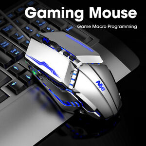 Wired Computer Gaming Mouse Mice Gamer With Backlight For PC Laptop Professional