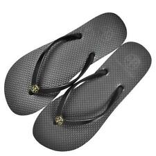 84b9c421e Tory Burch Women Flip-Flops Thin Sole Women Summer Sandals - Solid Black