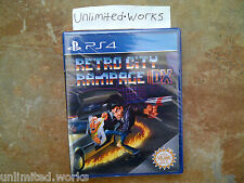 Retro City Rampage DX Exclusive Physical Edition PlayStation 4 [First Print] New