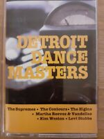 Detroit Dance Masters - various artists Motown cassette tape 1995 Hallmark - vg+