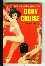 ORGY CRUISE by JX Williams, rare US Ember #931 sleaze gga pulp vintage pb