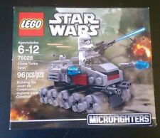 LEGO Star Wars – Clone Turbo Tank MicroFighter #75028 Brand New Factory Sealed