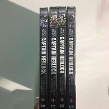 SPACE PIRATE CAPITAN HERLOCK-THE ENDLESS ODYSSEY OUTSIDE LEGEND 4 DVD COMPLETA