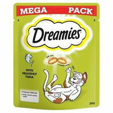Dreamies Cat Treats With Tuna Mega Pack 200G Kitten Food Feed Feeding Snacks Pet
