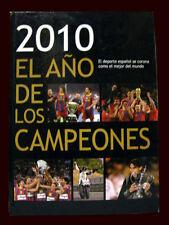 2010 EL AÑO DE LOS CAMPEONES History of European Football - Soccer Book