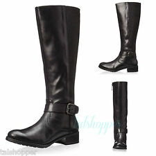 DONALD J PLINER Beso Moto Black LEATHER Riding Equestrian Boots $398 NEW 7.5 M