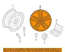 VW VOLKSWAGEN OEM 15-16 Golf-Wheel-Alloy Aluminum 5G0601025AHFZZ