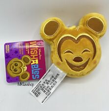 2020 Disney Parks Wishables Snacks Food Series 2 Mickey Mouse Waffle Plush Toy