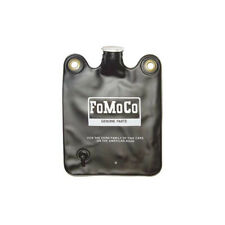 Windshield Washer Bag - Twist-Off Cap - Black Vinyl Bag With FoMoCo White