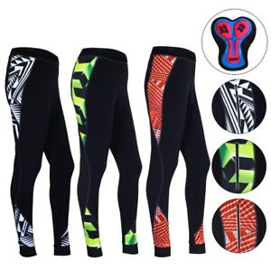 ProAthletica Women Sublimated Thermal 3D GEL Padded Cycling Tights/Trousers