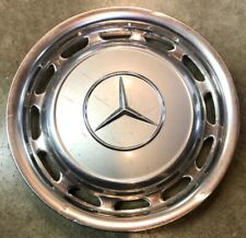 1969 - 1983 Mercedes Benz 240D 450 SEL 300 Series Silver Hubcap Wheel Cover