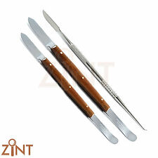 Lab Instruments Plaster Wax & Modeling For Mixing Material Knives Technician New