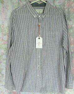 BNWT Jasper Conran Size XXL Mens Smart Formal Blue White Stripe Shirt RRP £40