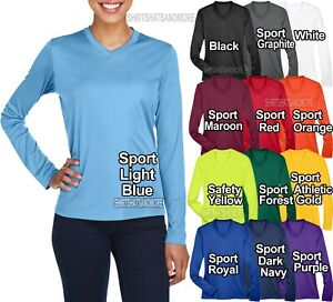 Ladies Long Sleeve Fishing T-Shirt UPF 40+ Women UV Moisture Wicking XS-XL 2X 3X