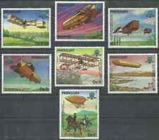 Timbres Avions Dirigeables Paraguay 2056/62 ** lot 26617